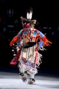 Northern Traditional Dancer, Terry Fiddler (Cheyenne River Sioux), National Museum of the American Indian National Powwow, 2007. Photograph by Katherine Fogden (Mohawk)