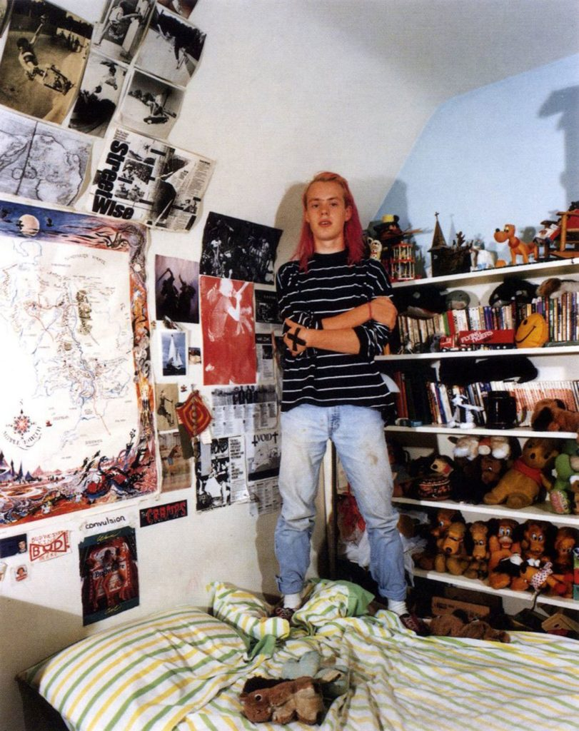 'In my Room: Teenagers in Their Bedrooms', Karl B. / © Adrienne Salinger