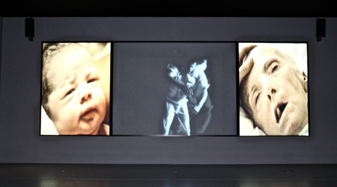 Video installations by Bill Viola in Hamburg