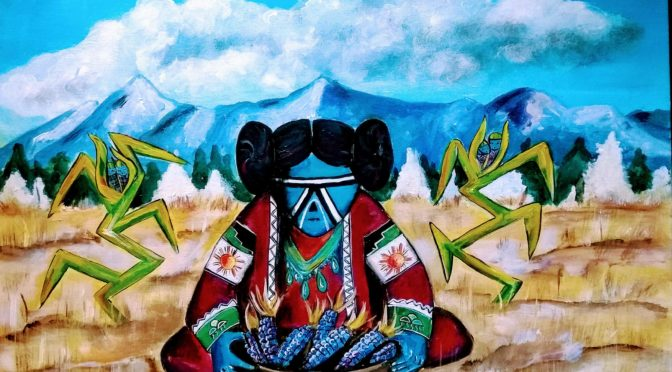 Native American Legends – Blue Corn Maiden And The Coming Of Winter