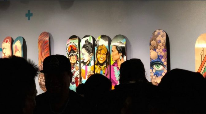 Northern Arizona: Native American Skateboard Deck Art