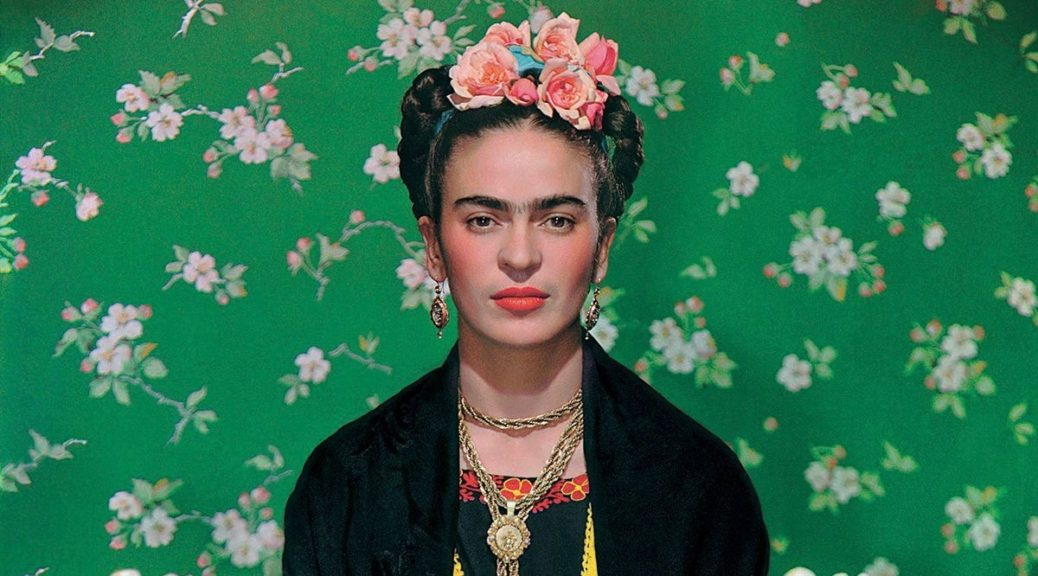 Nickolas Muray, Frida on White Bench #5, 1939. Carbon print; 40 x 27.3 cm. The Vergel Foundation and MondoMostre in collaboration with the Instituto Nacional de Bellas Artes y Literatura (INBAL). Photo by Nickolas Muray; © Nickolas Muray Photo Archives. Digital Image by Gerardo Suter.