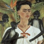 Frida Kahlo. Self-Portrait with Monkeys. 1943. © 2020 Banco de México Diego Rivera Frida Kahlo Museums Trust, Mexico, D.F./Artists Rights Society (ARS), New York. Photo by Gerardo Suter.